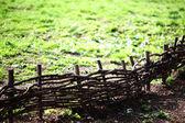 Cerca de madeira — Foto Stock