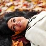 Autumn woman — Stock Photo #6932171