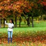 Autumn woman — Stock Photo #6932198
