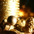 christmas candle&quot — Stock Photo #6932245