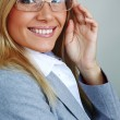 Business woman in glasses — Stock Photo #6933281