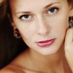 Woman studio portrait — Stock Photo #6933772