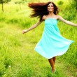 Dance in forest — Stock Photo #6933920