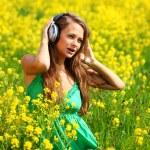 Listening to music — Stock Photo #6934533