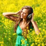 Listening to music — Stock Photo #6934535
