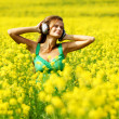 Listening to music — Stock Photo #6934536