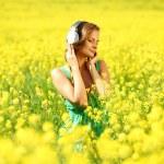 Listening to music — Stock Photo #6934538
