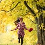 Autumn woman — Stock Photo #6934835