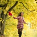 Autumn woman — Stock Photo #6934837