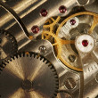 Clock gear — Foto Stock
