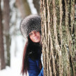 Winter woman — Stock Photo #6935128