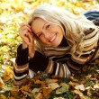 Autumn woman — Stock Photo #6935142