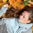 Autumn woman — Stock Photo #6935145