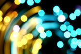 Motion bokeh — Stock Photo