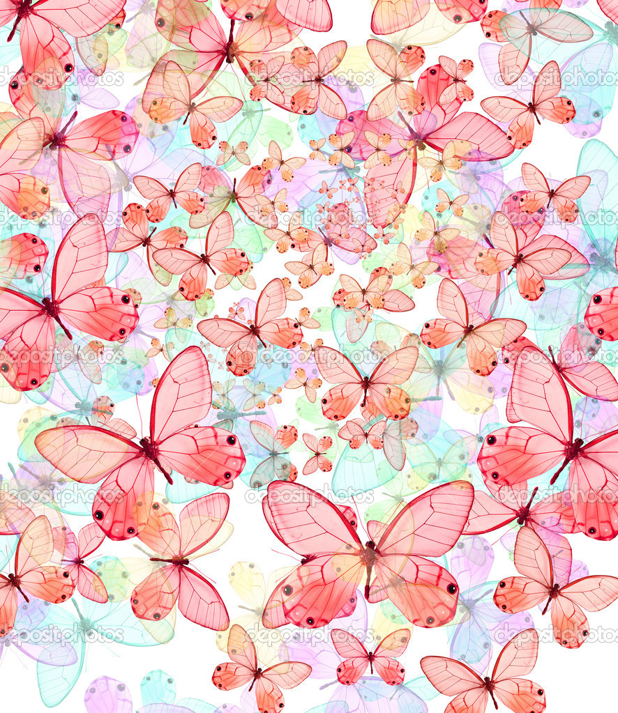 Beautiful butterfly abstract texture background — Stock Photo #6933732