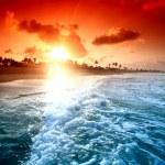Ocean sunrice — Stock Photo #7019283