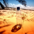Desert water - Stock Photo