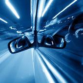 Night car drive — Stockfoto