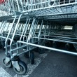 Shoping carts — Stock Photo #7078263