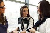 Reunião de mulher de negócios — Fotografia Stock