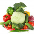 Big vegetarian pile — Stock Photo #7102106