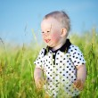 Boy in grass — Stock Photo #7102164