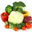 Big vegetarian pile — Stock Photo #7102512