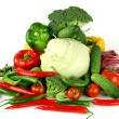 Big vegetarian pile — Stock Photo #7102515