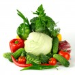 Big vegetarian pile — Stock Photo #7102516