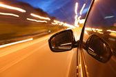 Conducir de noche — Foto de Stock