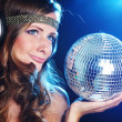 Disco girl — Stock Photo #7138375