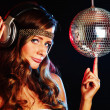 Disco girl — Stock Photo #7138377