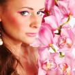 Orchid woman — Stock Photo #7138399