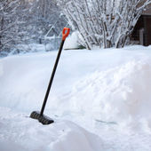 Shovel snow — Stock Photo