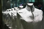 Showcase clothing — Stock Photo
