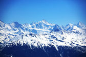 Cima de las montañas — Foto de Stock