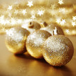 Golden christmas — Stock Photo #7191655