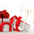 White gift — Stock Photo #7192382