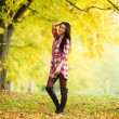 Autumn woman — Stock Photo #7193212