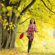 Autumn woman — Stock Photo #7193223
