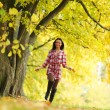 Autumn woman — Stock Photo #7193224