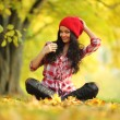 Autumn woman — Stock Photo #7193225