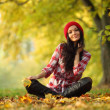 Autumn woman — Stock Photo #7193226