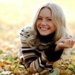 Autumn woman — Stock Photo #7193443