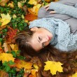 Autumn woman — Stock Photo #7193448