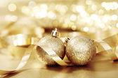 Gyllene jul — Stockfoto