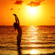 Sunset woman — Stock Photo #7203561