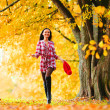 Autumn woman — Stock Photo #7257703