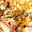 autumn woman — Stock Photo #7257952
