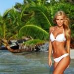 Woman in a bikini — Stock Photo #7332004